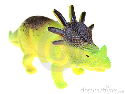 Triceratops dinosaur toy