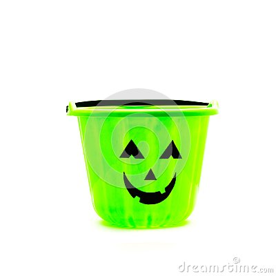 Free Trick Or Treat Candy Pail Bucket Isolated Stock Photos - 100615133
