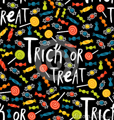 Trick-or-treat pattern