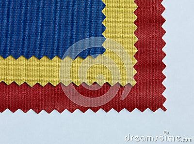 Tricolor fabric texture textile