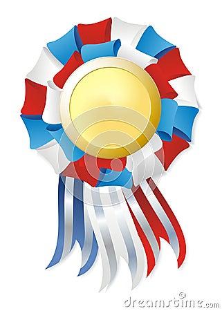 Tricolor winner award