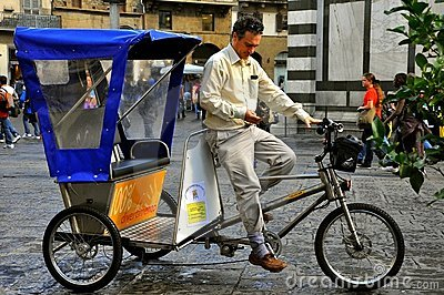 Tricycle taxi Editorial Photo