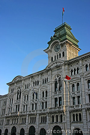 Free Trieste City Hall Stock Photography - 6390512