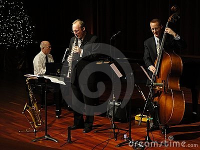 Trifecta Jazz Band at the Temple Editorial Photo