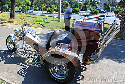 Trike Editorial Stock Image