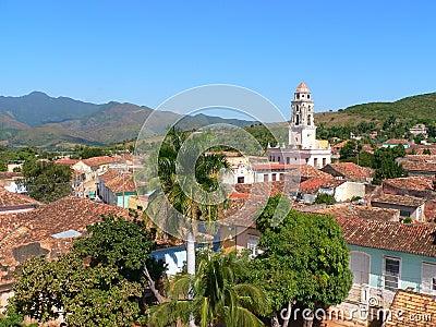 Trinidad cuba view