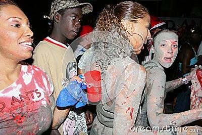 Trinidad J Ouvert celebrations Editorial Image