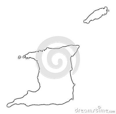 Trinidad and Tobago map