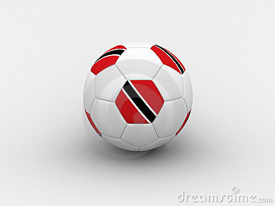 Trinidad and Tobago soccer ball