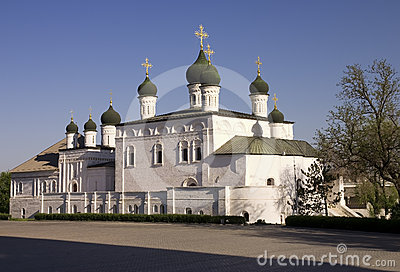 Trinity Cathedral of Astrakhan Kremlin, Russia