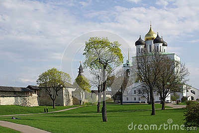 Trinity Cathedral of the Kremlin in Pskov
