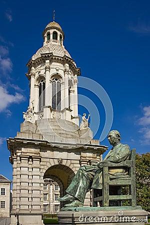 Free Trinity College. Campanile . Dublin. Ireland Stock Photos - 108399123