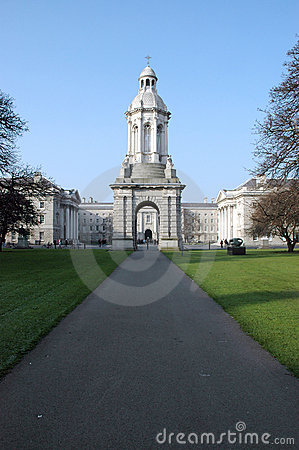 Free Trinity College Campus Royalty Free Stock Photography - 4363237
