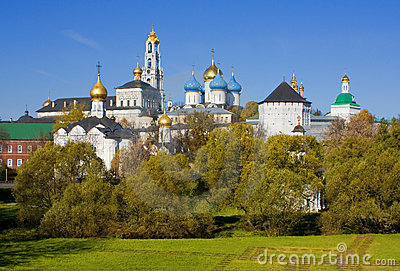 Trinity Sergius Lavra in Sergiev Posad, Russia