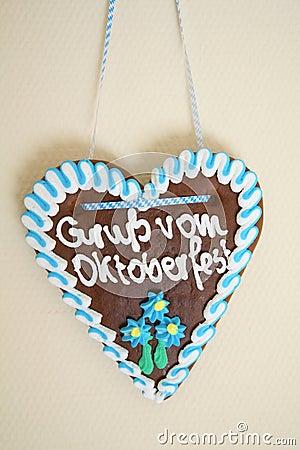 Trinket de Oktoberfest Fotografia Editorial