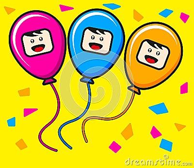 Trio ballon