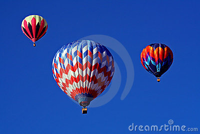 A Trio of Hot Air Balloons