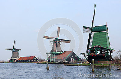 Trio of Windmills
