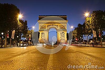 Triomphe de paris дуги