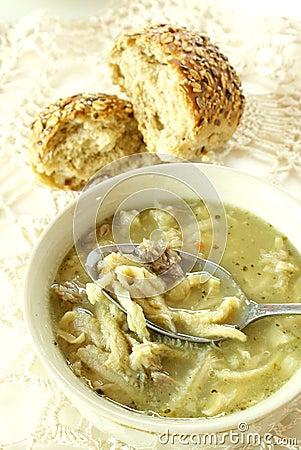 Free Tripe Soup Royalty Free Stock Photo - 10357945