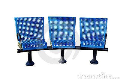 Triple Chairs Stock Images - Image: 20556944