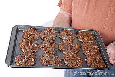 Triple Chocolate Cookies Royalty Free Stock Photo - Image: 14594535