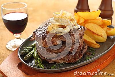 Triple Decker  Steak