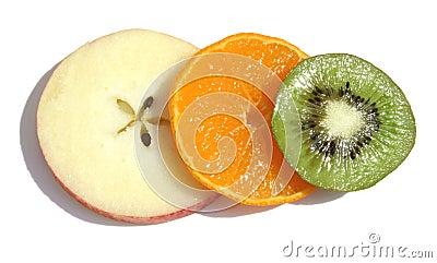 Triple fruit
