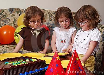 Triplets Birthday