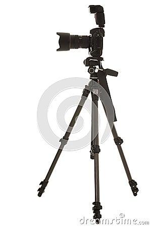 Free Tripod And Camera Stock Image - 15668751