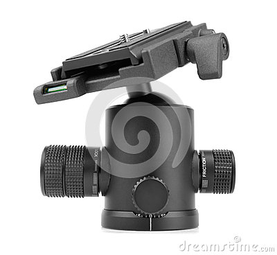Tripod ball head.