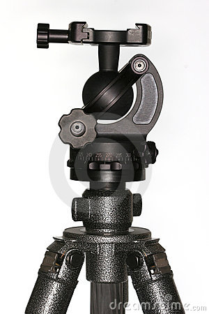 Tripod ballhead 1 Stock Photo
