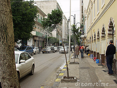 Tripoli streets Editorial Stock Image