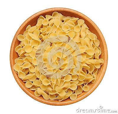 Tripolini tie shape pasta