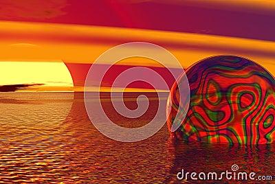 Trippy globe