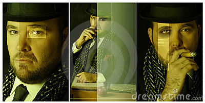 Triptic composite off big boss
