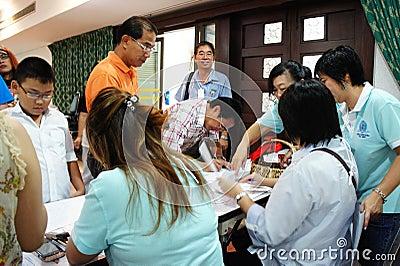 Trirat Suksa Reunion party Editorial Photo