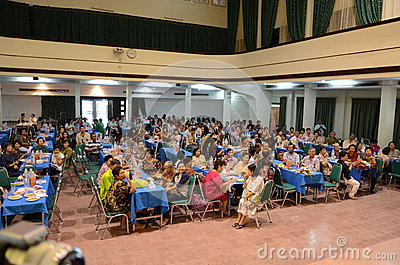 Trirat Suksa Reunion party Editorial Stock Image