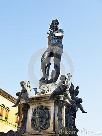 Triton Fountain in Main Piazza