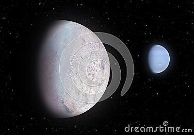 Triton and Neptune