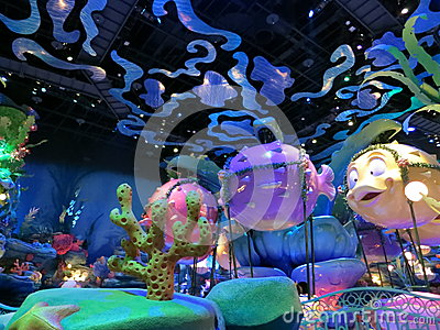 Triton s Kingdom in Tokyo Disney Sea Editorial Image