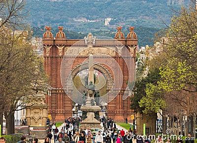 Triumph Arc in Barcelona