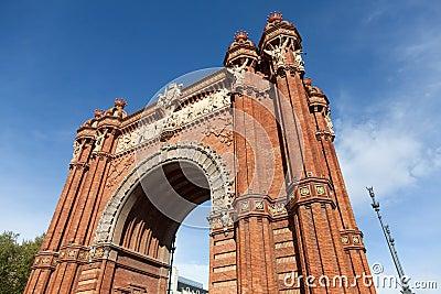 Triumph Arch (Arc de Triomf), Barcelona, Spain
