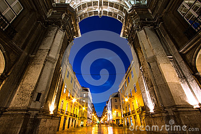 Triumph Arch in Lisbon