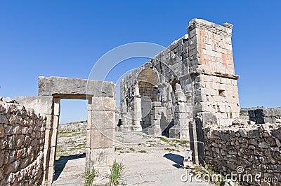 Triumph Arch at Volubilis, Morocco