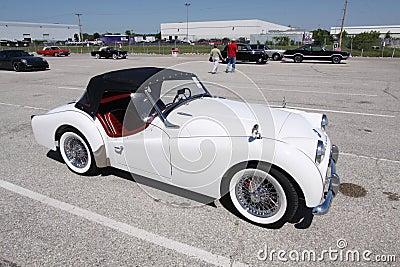 Triumph TR3A 1960 Editorial Stock Image