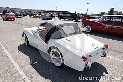 Triumph TR3A 1960 Editorial Photo