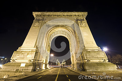 Triumphal arch in Bucharest