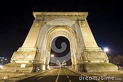 Triumphal arch in Bucharest