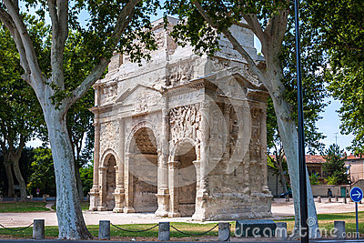 Triumphal Arch of Orange, France